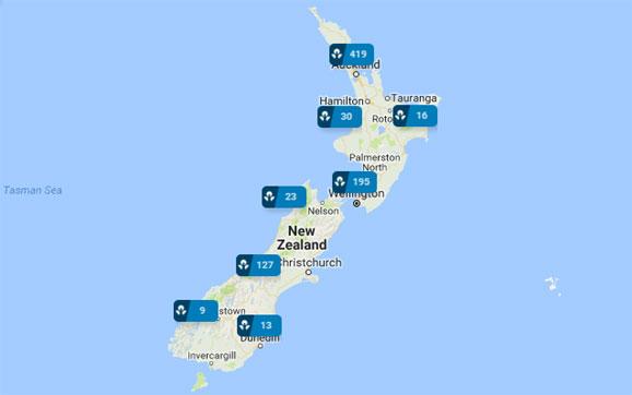 ANZ Branches NZ