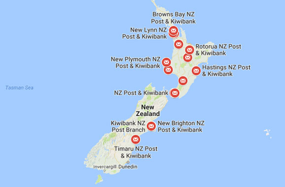 Kiwibank NZ Branches
